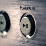 Ein Play/Pause-Button (Foto: pixabay/tbit)