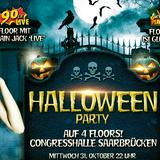 "Event-Plakat ""Halloween-Party"" in der Congresshalle (Foto: Veranstalter)"
