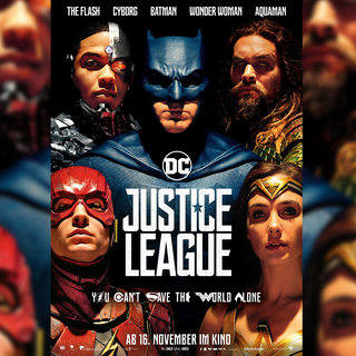 "Kinoplakat vom Film ""Justice League"" (Foto: Warner Bros. GmbH)"
