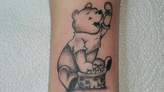 Winnie-Puh-Tattoo (Foto: FB/ Chantal Gabriel)