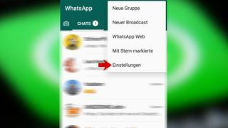 Screenshot Whatsapp (Foto: UNSERDING)